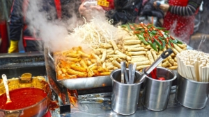 Korean food court